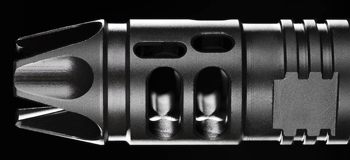 Mission First Tactical Compensator, Guy J. Sagi, Fear and Loading, Gun porn, Firearm photography,