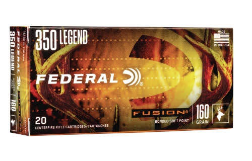 Federal Fusion in .350 Legend