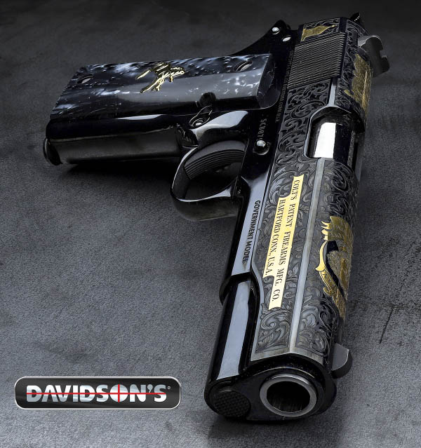Davidson's Creates with Colt and Baron Engraving