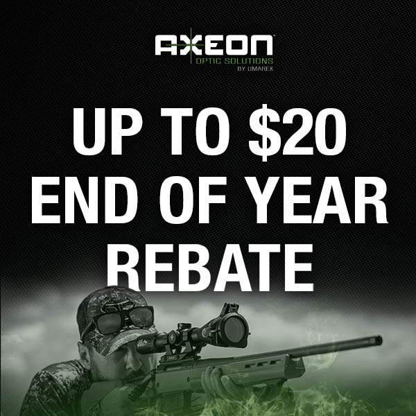 Axeon Optic Solutions Offers End of Year Rebate