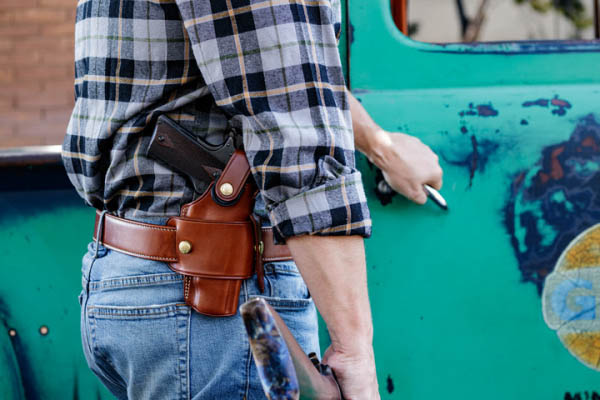 Galco's WheelGunner & Ironhide Belt Holsters