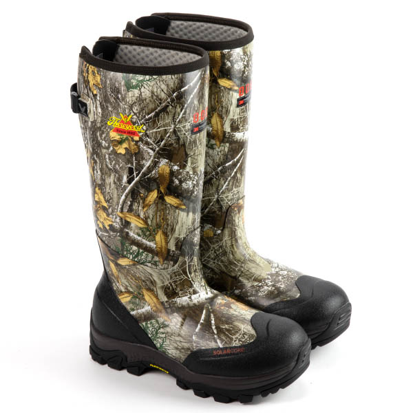 New Guns & Gear for 2021—Thorogood Realtree EDGE Camo Infinity FD Rubber Boots
